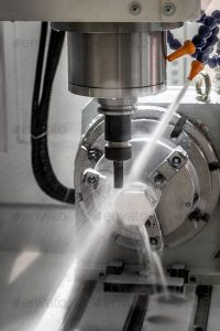 Multi axis machining
